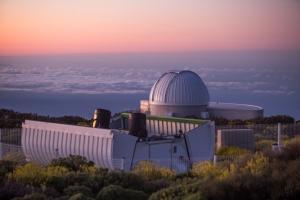 Telescopio LCO en el OT. Crédito: Daniel López / IAC