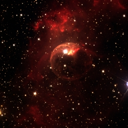 NGC 7635. T. Liverpool, NSO