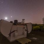 Telescopios LCO en el OT. Crédito: Daniel López / IAC