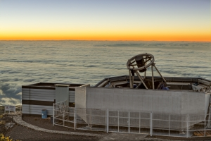 Telescopio Liverpool. Crédito: Pablo Bonet / IAC