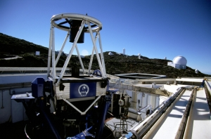 Telescopio Liverpool en el ORM. Crédito: Liverpool Telescope