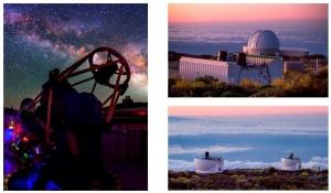 Telescopios disponibles en PETeR