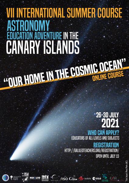 Cartel del curso AEACI 2021